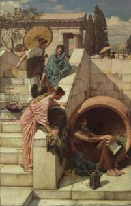 Art Prints of Diogenes II by John William Waterhouse