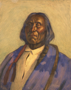 Art Prints of Chief Red Cloud by Joseph Henry Sharp