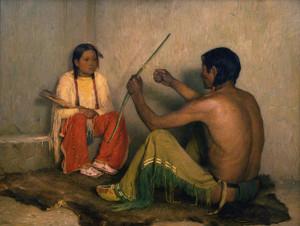 Art Prints of The Broken Arrow by Joseph Henry Sharp