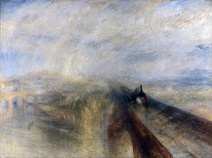 Art Prints of Rain, Stream and Speed by Joseph Mallord William Turner