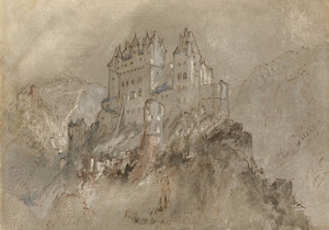 Art Prints of Burg Eltz, Germany by William Turner