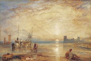 Art Prints of Flint Castle, North Wales by William Turner