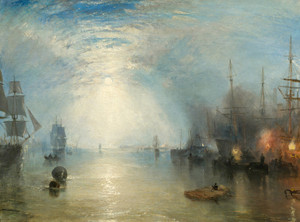 Art Prints of Keelmen Heaving in Coals by Moonlight by Joseph Mallord William Turner