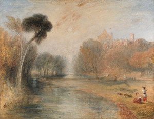 Art Prints of Schloss Rosenau or Rosenau Palace, Coburg, Germany by William Turner
