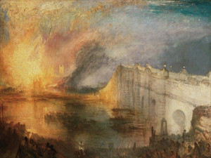 Art Prints of The Burning of the Houses of Lords and Commons by William Turner