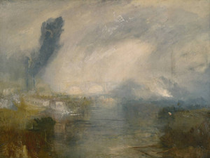 Art Prints of The Thames Above Waterloo Bridge by Joseph Mallord William Turner