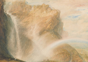 Art Prints of Upper Falls of the Reichenbach by William Turner