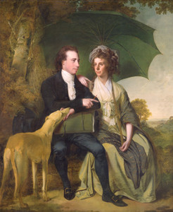Art Prints of The Reverend and Mrs. Thomas Gisborne by Joseph Wright of Derby