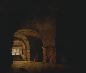 Art Prints of The Prisoner by Joseph Wright of Derby