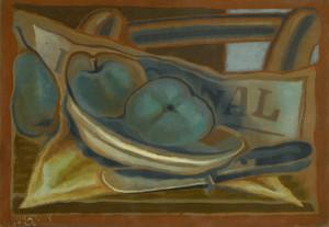 Art Prints of Apples by Juan Gris
