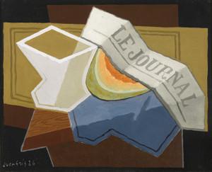 Art Prints of A Slice of Melon by Juan Gris