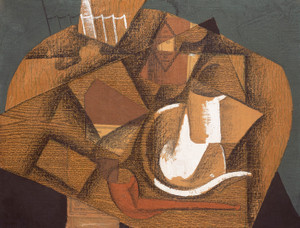 Art Prints of Cup and Pipe by Juan Gris