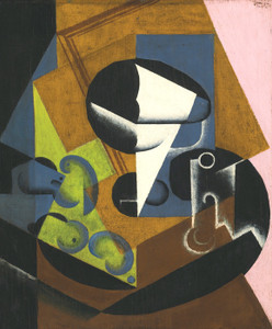 Art Prints of Fruit Compote on a Table by Juan Gris