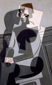 Art Prints of Portrait of Madame Josette Gris by Juan Gris