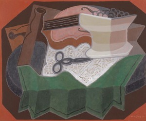 Art Prints of Scissors by Juan Gris