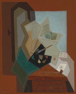 Art Prints of The Painters Window by Juan Gris