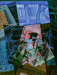 Art Prints of Still Life before an Open Window by Juan Gris