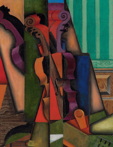 Art Prints of Violin and Guitar by Juan Gris