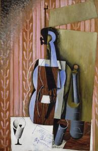 Art Prints of Violin by Juan Gris