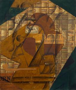 Art Prints of Bottle of Rum by Juan Gris