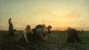 Art Prints of The Weeders by Jules Breton