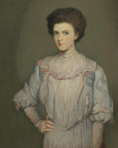 Art Prints of An American Girl by Julian Alden Weir