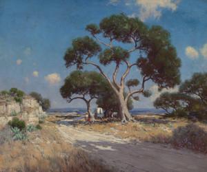 Art Prints of On the Old Blanco Road, Southwest Texas by Julian Onderdonk