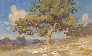 Art Prints of High Desert Oaks by Julian Onderdonk