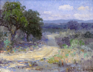 Art Prints of A Path Through the Texas Hill Country by Julian Onderdonk