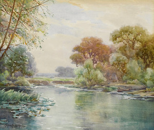 Art Prints of Untitled Watercolor by Julian Onderdonk