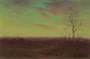 Art Prints of Winter Twilight, Southwest Texas by Julian Onderdonk