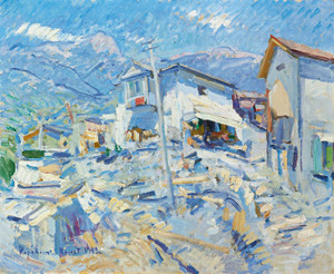 Art Prints of Crimean Landscape by Konstantin Alexeevich Korovin