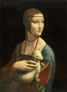 Art Prints of Lady with an Ermine by Leonardo da Vinci