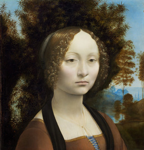 Art Prints of Ginevra de Benci by Leonardo da Vinci