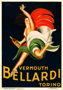 Art Prints of Vermouth Bellardi Torino by Leonetto Cappiello