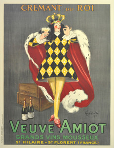 Art Prints of Veuve Amiot, King of Sparkling Wines by Leonetto Cappiello