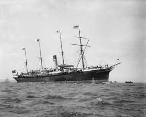 Art Prints of S.S. Friesland, Historic Passenger Ships