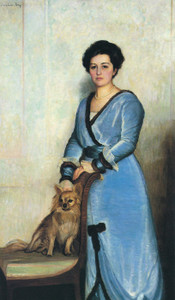 Art Prints of Portrait of Mrs. Louis Niles Roberts by Lilla Cabot Perry