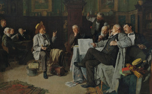 Art Prints of The Dubious Tale by Louis Charles Moeller
