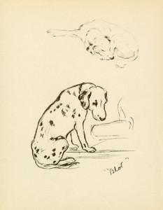 Art Prints of Blot II by Lucy Dawson