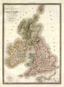 Art Prints of Iles Britanniques (2174025) by M. Pierre and Alexandre Emile Lapie
