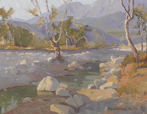 Art Prints of Arroyo Stream by Marion Kavanaugh Wachtel
