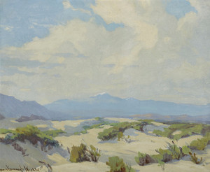 Art Prints of Desert Near Palm Springs by Marion Kavanaugh Wachtel