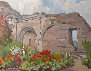 Art Prints of Mission, San Juan Capistrano by Marion Kavanaugh Wachtel