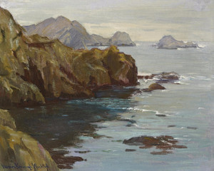 Art Prints of Monterey Coast by Marion Kavanaugh Wachtel