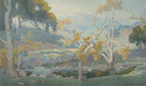 Art Prints of Ojai Countryside by Marion Kavanaugh Wachtel