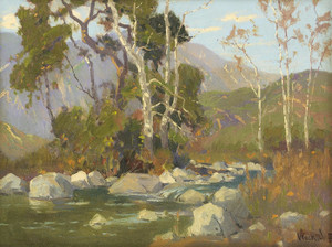 Art Prints of Santa Anita Canyon by Marion Kavanaugh Wachtel