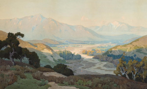 Art Prints of The Coachella Valley II by Marion Kavanaugh Wachtel