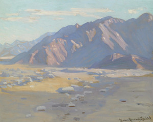 Art Prints of The Coachella Valley by Marion Kavanaugh Wachtel