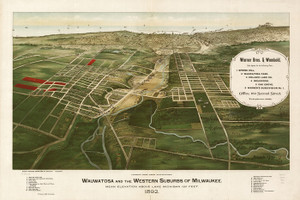 Art Prints of Wauwatosa and the Western Suburbs of Milwaukee by Marr